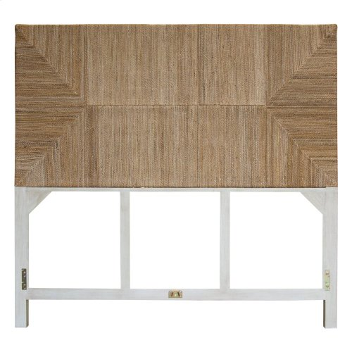 Queen Headboard, Available in Coral White Finish Only.