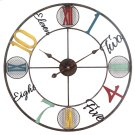 Whimsical Design Wall Clock Product Image