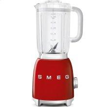 Smeg 50s Retro Style Design Aesthetic Countertop Blender, Red
