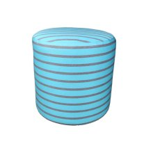 Patio Furniture Cushions & Outdoor Pillows : Round Outdoor Pouf