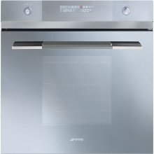 """60CM (Approx. 24"""") Linea Design Multifunction Silver Glass Oven"""
