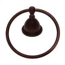 Old World Bronze Renaissance Towel Ring