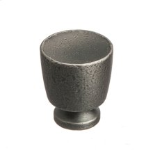 "1"" Knob - Distressed Pewter"