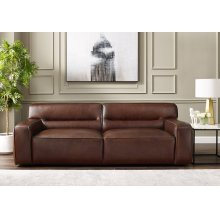 SU-AX6816-S  Leather Sofa  Brown