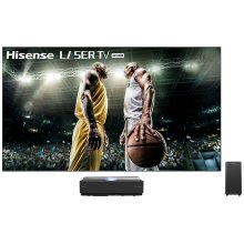 """100"""" Class - L10 Series - 4K UHD Hisense Smart Laser TV with HDR and Wide Color Gamut (100"""" diag)"""