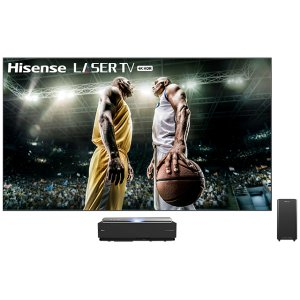 """120"""" Class - L10 Series - 4K UHD Hisense Smart Laser TV with HDR and Wide Color Gamut (120"""" diag)"""