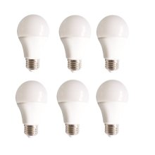 LED A19, 3000K, 160°, CRI80, UL, 10W, 60W EQUIVALENT, 15000HRS, LM800, NON-DIMMABLE, 3 YEARS WARRANTY, INPUT VOLTAGE 120V 6 PACK