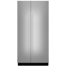 """Euro-Style 42"""" Fully Integrated Built-In Side-by-Side Panel-Kit, Stainless Steel"""