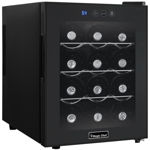 12-Bottle Countertop Wine Cooler
