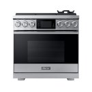 """36"""" Pro Gas Range, Silver Stainless Steel, Natural Gas Product Image"""