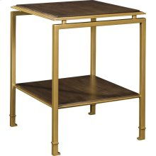 Montpelier Accent Table Base & Wood Top/Shelf