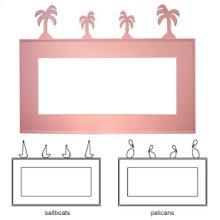 Palmetto Mirror Frame 93