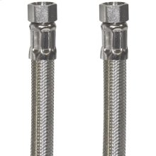 Braided Stainless Steel Ice Maker Connector (5ft)