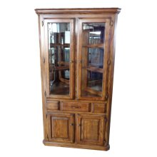 Corner Hutch W/2 Full Doors