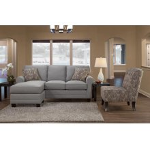 3730 Sofa Chaise (SOFA WITH CUSHIONS AND PILLOWS ONLY, OTTOMAN PIECE AND CHAIR ARE SEPARATE)