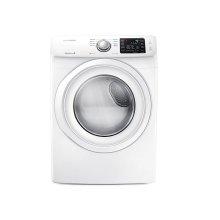 7.5 cu. ft. Gas Dryer in White