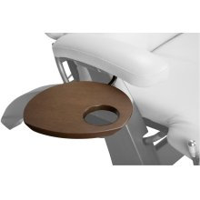 Perfect Chair Accessory Table - Human Touch - DarkWalnut