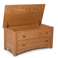Royal Mission Blanket Chest with False Fronts, Fabric Cushion Top Product Image