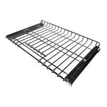 SatinGlide Roll-Out Full Extension Rack with Handle for select 30In Wall Ovens and Ranges