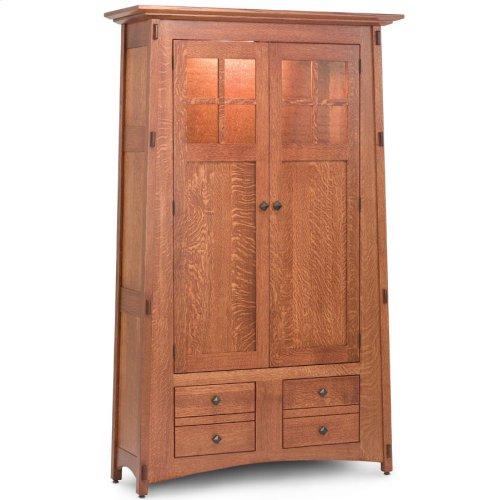 McCoy Bookcase, Wood Doors