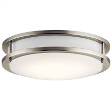 "11.75"" LED Flush Mount Brushed Nickel"