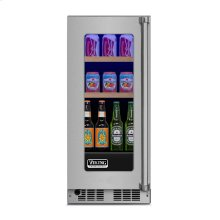 "15"" Beverage Center, Left Hinge/Right Handle"