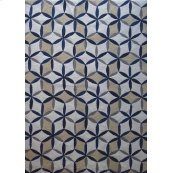 out11 blue white beige Rug