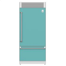 "36"" Pro Style Bottom Mount, Top Compressor Refrigerator - KRP Series - Bora-bora"