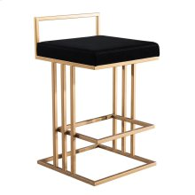 Trevi Black Counter Stool