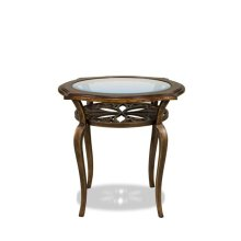 Side Table Brown Sugar finish