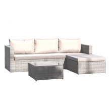 Santorini 3 PC Sofa Sectional Set w/cushion