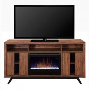 Luna Media Console Electric Fireplace