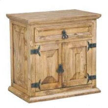 1 Drawer 2 Door Night Stand