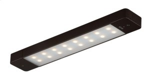 "Instalux® 16"" LED Motion Under Cabinet Light Bronze Product Image"