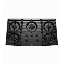 Gold® 36-inch Gas Cooktop with Five Burners and Tempered Glass Surface