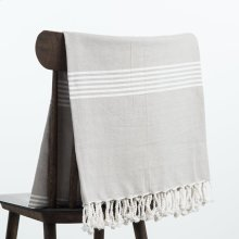 Annette Throw - Grey