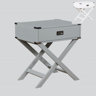 Hudson End Table Grey