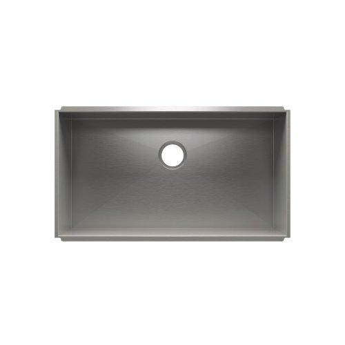 """UrbanEdge® 003633 - undermount stainless steel Kitchen sink , 33"""" × 18"""" × 10"""""""