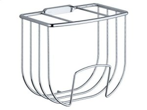 Guest towel basket - chrome-plated Product Image