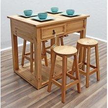 Island W/stools