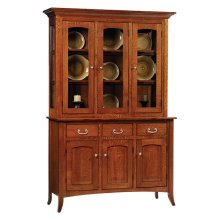 3-Door Shaker Hutch & Buffet