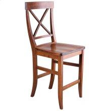 La Croix Counter Chair - Wood Seat