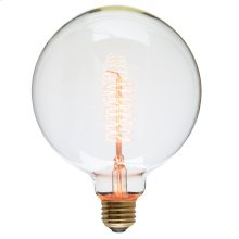 G125 60 Anchors 40w Light Bulb  Clear