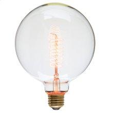 G125 60 Anchors 40w Light Bulb  Clear