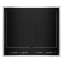 "Lustre Stainless 24"" Induction Flex Cooktop"