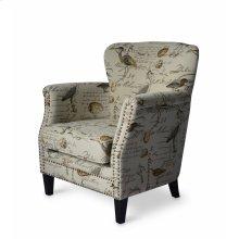 Phoebe Accent Chair, Cream