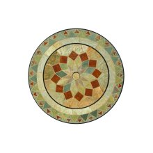 """Notre Dame Center Disc for 30"""" Round Beverage/Fire Pit Table"""