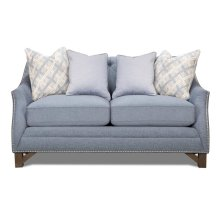 Marine Blue Loveseat