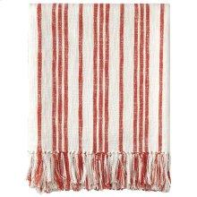 Grain Sack Throw, RED, THRW
