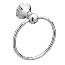 Ashbee Towel Ring - Polished Chrome